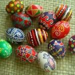 11 апреля 2015г- мастер-класс по росписи пасхальных яиц