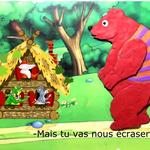 Совместный пластилиновый мультфильм «Теремок» (Испания-Франция)