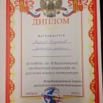 Всеиспанская олимпиада по русскому языку  литературе
